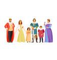 big royal family vector image