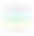 electric bolt shape halftone spectrum effect vector image vector image