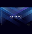 modern abstract blue geometrical background vector image vector image