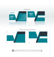 modern business card background one-to-one vector image