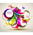 modern colored frame vector image vector image