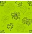 Natural seamless pattern vector image vector image