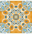 Oriental seamless pattern with circle ornament vector image vector image
