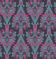seamless pattern with hand drawn colorful vector image vector image