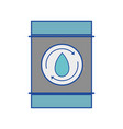 water tank to environment care vector image vector image