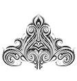 ethnic ornament design vector image vector image