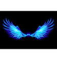 Fair wings Blue vector image vector image