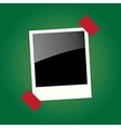 frame for the photo vector image vector image