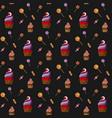 halloween spooky cupcake vector image vector image