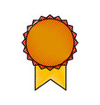 medal award isolated icon vector image