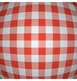 picnic tablecloth background vector image vector image