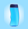shampoo bottle on the white backgrounds vector image vector image