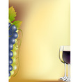 vine card vector image vector image