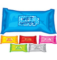 Wet wipes vector image