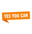 yes you can vector image vector image