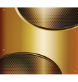 abstract metallic background vector image vector image