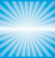 blue color burst vector image vector image