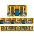 Egyptian antique pattern vector image vector image