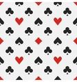 Elegant poker pattern vector image vector image