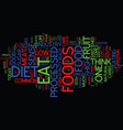 good food bad food what s left to eat text vector image vector image