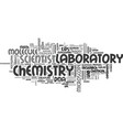science word cloud concept vector image vector image