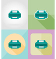 service flat icons 26 vector image vector image