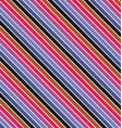 Simple seamless diagonal stripe pattern background vector image