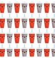 soda character kawaii style vector image vector image