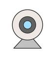 web camera icon pictograph pixel perfect editable vector image vector image