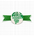 World Environment Day Eco Banner Template vector image vector image