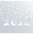 Abstract Winter 2014 Background vector image
