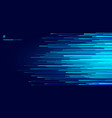 abstract glowing blue horizontal lines pattern on vector image vector image