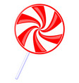 colorful cartoon lollipop vector image