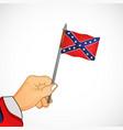 confederate memorial day vector image vector image