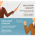 Education Concept Horizontal Banners vector image vector image