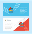 files copy abstract corporate business banner vector image vector image