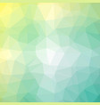 minty lime polygonal background vector image