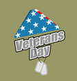 veterans day usa flag symbol of mourning and