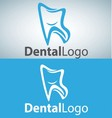 dental logo 14 vector image