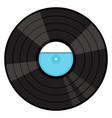 vinyl gramophone record vector image