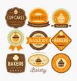 Bakery labels design