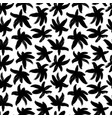 brush abstract flowers seamless pattern vector image