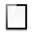 object tablet vector image vector image