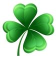 Shamrock or clover leaf vector image vector image