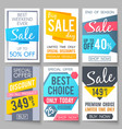 shopping sale backgrounds retail vector image