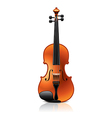 object violin vector image
