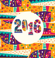 2016 New Year2 vector image vector image