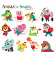 animals character vector image vector image