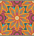 beautiful fabric pattern seamless flowers pattern vector image