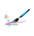 colourful pen vector image vector image